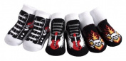 JazzyToes Rock'n Sox Gift Box of Baby Socks