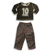 Mis Tee V-Us - Newborn Boys Long Sleeve Pant Set