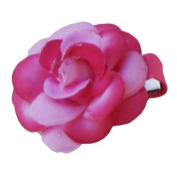Hot Pink Rose Ribbon Clip, Beautiful Gifts for Girls