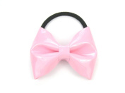 Hair Bow - Shinny Synthetic Leather Hair Band / Accessory for Baby Girls & Toddler