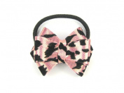 Leopard Hair Bow - Animal Print Hair Band / Accessory for Baby Girls & Toddler
