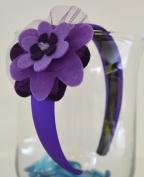 Adelle Girls Felt Flower Headband