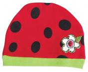 Sozo Baby-Girls Newborn Ladybug Cap