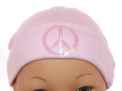 Sequin Peace Sign Baby Hat
