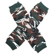 CAMOUFLAGE (CAMO) Baby Leggings/Leggies/Leg Warmers for Cloth Nappies - GIRLS & ONE SIZE by BubuBibi