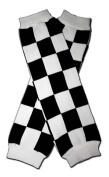 "RACE CAR CHECKER FLAG - Baby Leggings/Leggies/Leg Warmers for Cloth Nappies - Little Girls & Boys & ONE SIZE by ""BubuBibi"""