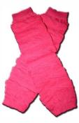 "HOT PINK RUFFLES Baby Leggings/Leggies/Leg Warmers for Cloth Nappies - GIRLS OR BOYS & ONE SIZE by ""BubuBibi"""