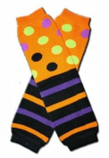 HALLOWEEN STRIPES & DOTS Baby Leggings/Leggies/Leg Warmers for Cloth Nappies - Girls or Boys & ONE SIZE by BubuBibi