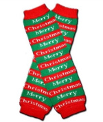 "MERRY CHRISTMAS - Baby Leggings/Leggies/Leg Warmers for Cloth Nappies - Little Girls & Boys & ONE SIZE by ""BubuBibi"""