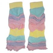 Baby Sherbet Stripe Legruffle Leg Warmers By Huggalugs