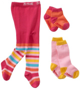 Zutano Baby-Girls Newborn Three Pack Tight Knee Highs And Anklets