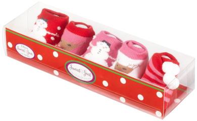 Country Kids Baby-girls Newborn Winter Wonderland Booties