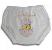 Light of Mine Designs Just Hatched Pink Nappy Cover/Panty Brief