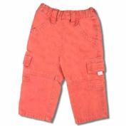 Baby & Toddler Girls Pink Denim Cargo Pants