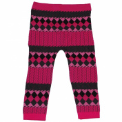 One Step Up Girls 12-24 Months (One Size) Print Cable Legging