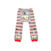 Wrapables Baby & Toddler Leggings, 123 Elephant - 24 to 36 Months