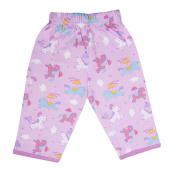 Funkoos Organic Pant for Newborn Baby Infant - Pony Print 100% organic cotton