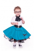 Hip Hop 50s Shop Toddler Poodle Skirt Size 1,2,3