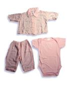 Little Giraffe - Newborn Baby Girls, 3-Piece Sleeveless Pant Set