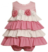 Bonnie Baby Girls Infant Tiered Knit Sundress