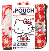 Character x Made in Japan Imabari Towel Dot Pouch
