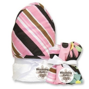 Trend Lab Maya Stripe 6-pc. Hooded Towel and Washcloth Bouquet Set baby gift idea