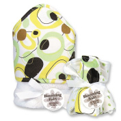 Trend Lab Giggles Dot 6-pc. Hooded Towel and Washcloth Bouquet Set baby gift idea