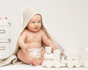 Antimicrobial Hooded Bath Towel for Infants and Toddlers