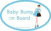 Baby Bump on Board Mackenzie Car Magnet