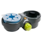 Baby / Child Brica Deluxe Snack Pod (Self Adjusting Cup Holder Accommodates Different Drink Sizes) - Grey Infant
