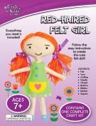 Craft for Kids - Red-Haired Felt Girl