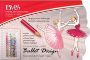 Stencil Art Portfolio - Ballet Design