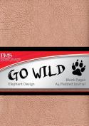 Go Wild A4 Journal - Elephant