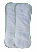 Buttons Nappies - Nighttime Doubler Insert - 2 Pack - Small