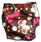 Bamboo Pocket Snaps Cloth Nappy/ Nappy - OS - BUTTERFLY PRINTS