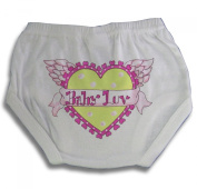 Light of Mine Designs Baby Love Nappy Cover/Panty Brief