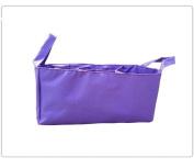 Baby Bottle Nappy Bag Organiser / Divider - Purple