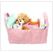 Baby Bottle Nappy Bag Organiser / Divider - Pink