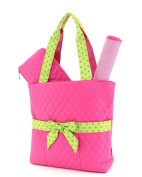 Belvah Quilted 3pc Set Large Nappy Bag