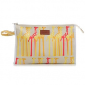 Apple & Bee Baby Baby Cosmetic Bag, Giraffes