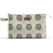 Apple & Bee Baby Baby Cosmetic Bag, Owls