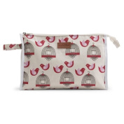 Apple & Bee Baby Baby Cosmetic Bag, Finch