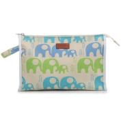 Apple & Bee Baby Baby Cosmetic Bag, Elephants