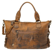 Jungle Leather Slouch Tote Nappy Bag