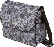 The Bumble Collection Amber Tote Nappy Bag, Lace Floral