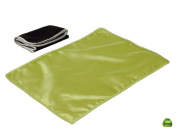I Frogee Bean Green Satin Nappy Changing Pad 46cm x 33cm