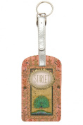 Papaya Art Starlet Peacock Luggage or Tote Bag Tag