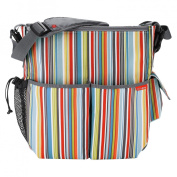 Skip Hop Duo Essential Diaper Bag Metro Stripe
