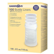 . BPA Free Bottle Liners- 100 Count - 120ml
