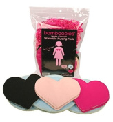 Bamboobies Variety 6 Pair Pack Super-soft Washable Nursing Pads
